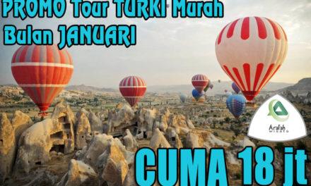 Promo Tour Turki 2021 Harga Cuma Rp 18 Jutaan Murah