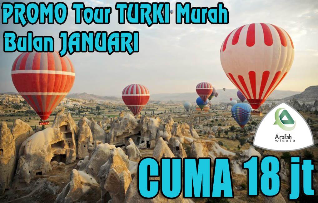 Promo Tour Turki 2019 Harga Cuma Rp 18 Jutaan Murah